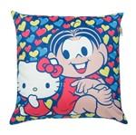 Capa de Almofada Colorida 45x45cm Hello Kitty e Mônica Urban
