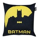 Capa de Almofada Preta e Amarela 45x45cm Batman Shadow Urban