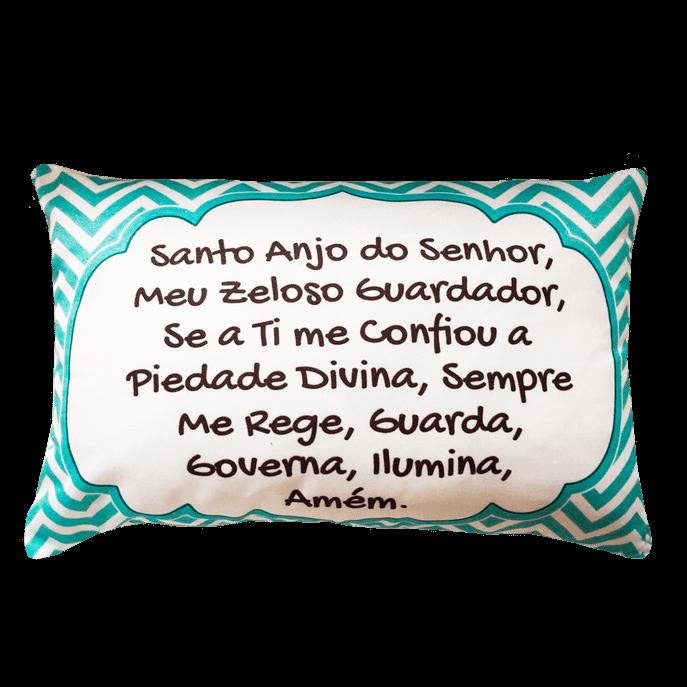 Capa de Almofada Santo Anjo Tiffany 30X45 Cm