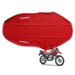 Capa de Banco Vermelha Protercapas para Honda XRE 300 Rally