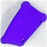 Capa Emborrachada Anti Queda Azul para Tablet 7 Polegadas Case Universal