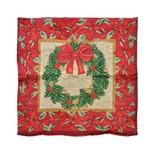 Capa P/almofada Decoração Natal 44x44cm Vermelho