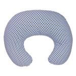 Capa para Almofada de Amamentação Poá Azul Marinho