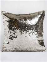 Capa para Almofada Jolitex Bege/dourado