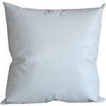 Capa para Almofada Luxurya Branca 45x45cm - Casa & Conforto