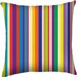 Capa para Almofada Stripes Colorida Poliéster (40x40cm) - Haus For Fun
