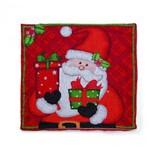 Capa para Almofada Vermelho Noel 44 X 44 Cm