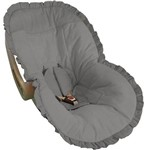 Capa para Bebê Conforto Cinza