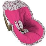 Capa para Bebê Conforto Pink Floral - Soninho de Bebê