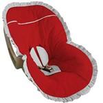 Capa para Bebê Conforto Vermelho - Soninho de Bebê