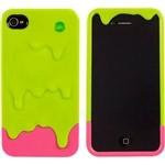 Capa para Iphone 4 e 4STinta Verde Silicone - Uatt?