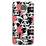Capa Personalizada para Moto Z Force Love Panda - LV21