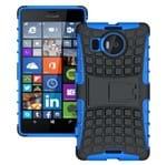 Capa Protetora Armadura 2x1 para Microsoft Lumia 950XL / Dual-Azul