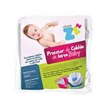 Capa Protetora de Colchão de Berço Baby Fibrasca