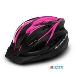 Capacete Bicicleta Led Absolute Nero Preto-rosa 52-57 Cm