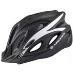 Capacete Ciclismo Absolute Nero Wt012 com Led Pisca - Preto/branco