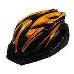 Capacete Ciclismo Absolute Wt012 com Pisca Laranja e Preto