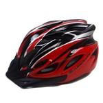 Capacete Ciclismo Absolute Wt012 Pisca Vermelho M 56-58