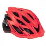 Capacete Ciclismo Bike Absolute Wild Piscaled Vermelho