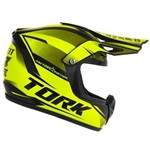 Capacete Cross Mini Pro Tork Factory Edition (enfeite)
