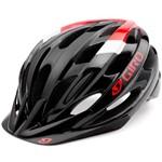 Capacete Giro Revel Recreacional Capacete Giro Revel-preto/vermelho/branc-grande