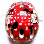 Capacete Infantil para Patins ou Bike Minnie Disney Dtc
