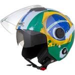 Capacete New Atomic Brasil Pro Tork Verde 58