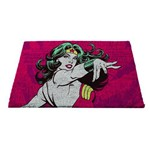 Capacho em Fibra de Coco Dc Comics Wonder Woman