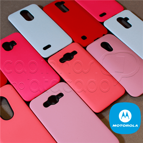 Capinha Anti-impacto Fosca - Motorola Moto E4 - Feminina