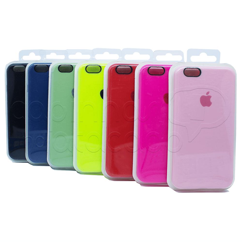 Capinha de Silicone com Embalagem Case Colors - Cores Sortidas IPhone 7 / 8