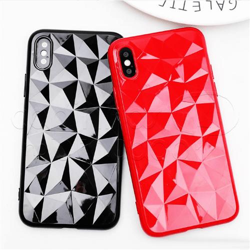 Capinha de Silicone Diamond - Cores Sortidas IPhone 5 / 5s / SE