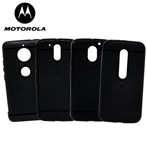 Capinha de Silicone - Preta - Motorola Moto C Plus