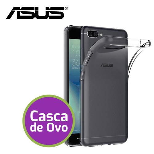 """Capinha de Silicone Ultra Fina """"Casca de Ovo"""" - Asus Zenfone 3 (5.2)"""