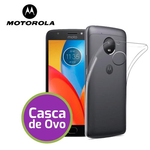 """Capinha de Silicone Ultra Fina """"Casca de Ovo"""" - Motorola Moto G6 Plus"""