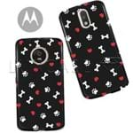 Capinha - Love Patinhas - Black - Motorola Moto C Plus