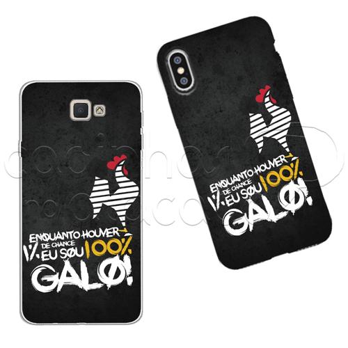 Capinha Personalizada - 100% Galo Galaxy J2 Prime