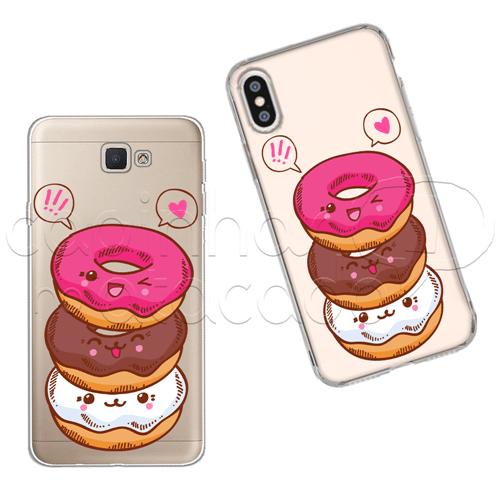 Capinha Personalizada - Love Donuts Galaxy J2 Prime