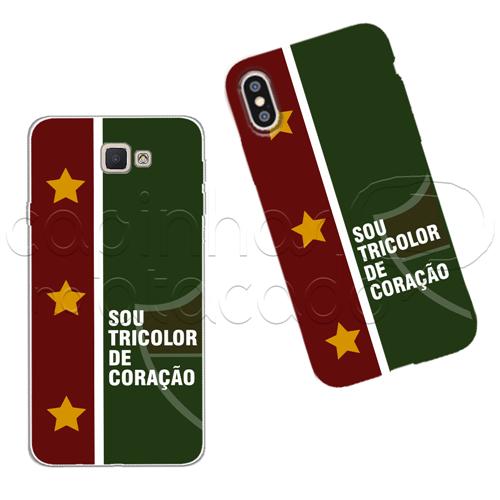 Capinha Personalizada - Tricolor de Coração Galaxy J2 Prime
