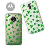 Capinha - Trevos - Motorola Moto C Plus