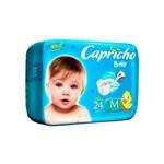 Capricho Baby Prática Fralda Infantil M C/24