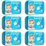 Capricho Baby Prática Fralda Infantil Xxg C/14 (kit C/06)