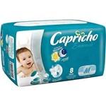 Capricho Baby Regular Fralda Infantil M C/8