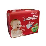 Capricho Enxutita Jumbinho Fralda Infantil P C/24