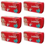 Capricho Enxutita Mega Fralda Infantil Xxg C/36 (kit C/06)