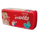 Capricho Enxutita Mega Fralda Infantil Xxg C/36