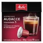 Cápsula de Café Audacce Melitta 50g