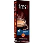 Cápsula de Café Espresso Decaf Tres - 10 Cápsulas