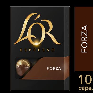 Cápsulas de Café L'or Forza 10un