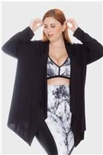 Cardigan Blanca Plus Size Preto-48/50