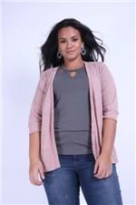 Cardigan Plus Size Rosa G